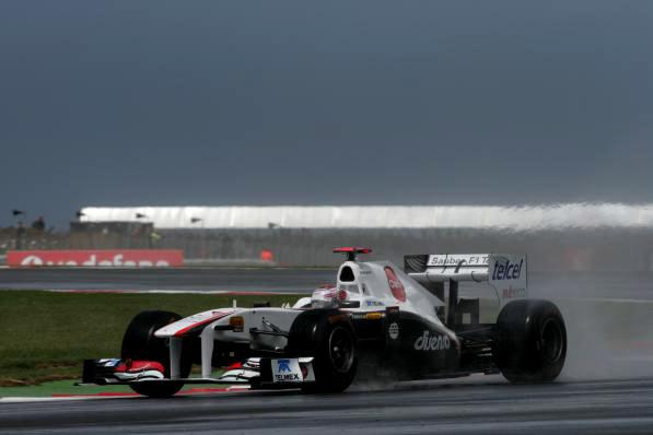 Kamui Kobayashi em Silverstone