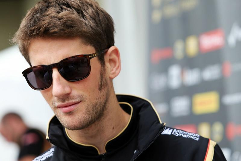 Grosjean permanecerá na Lotus em 2015