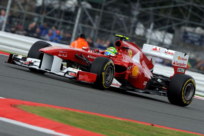 Felipe Massa em Silverstone