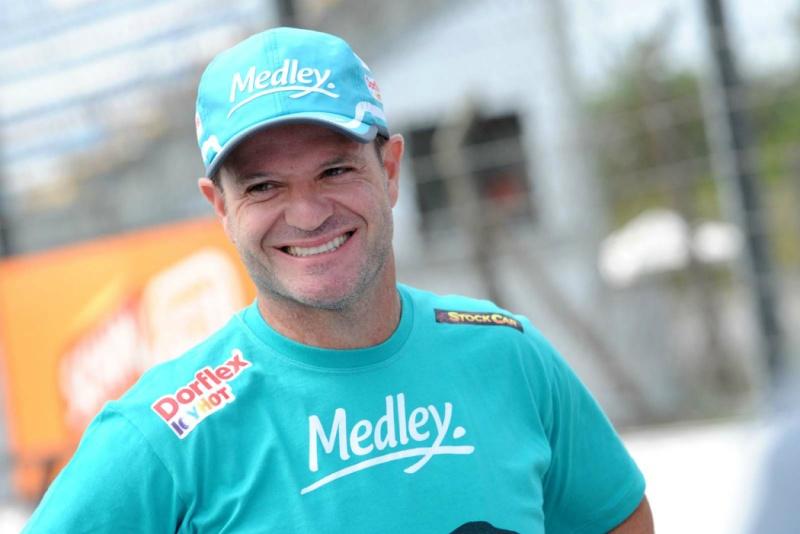 Barrichello conquistou a pole-position neste sábado