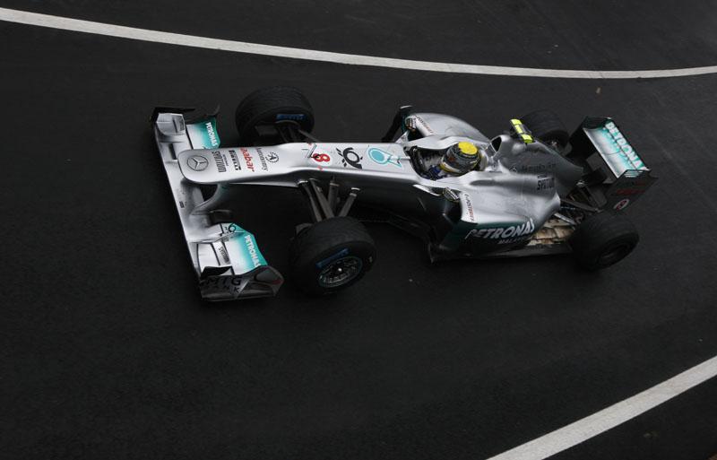 Rosberg larda em nono no GP da Grã-Bretanha