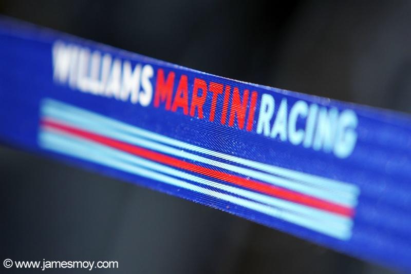 Martini é uma das principais patrocinadoras da Williams
