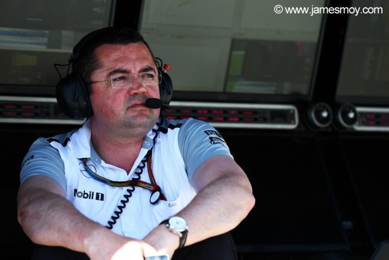Boullier segue tranquilo em relação ao anúncio dos pilotos
