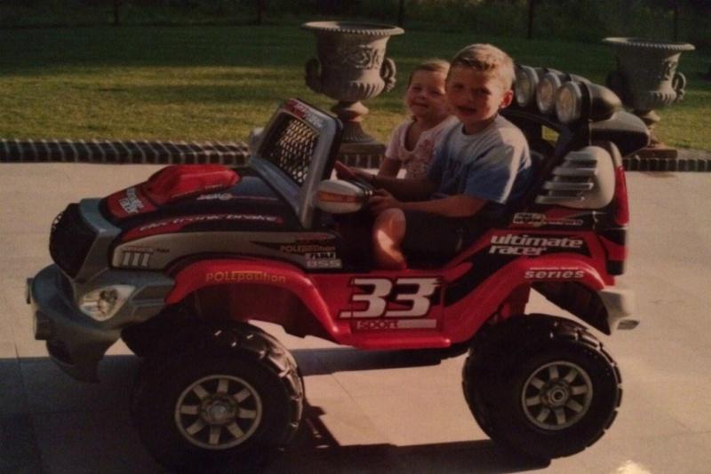 Verstappen usará o número 33, que já 'carregava' na infância