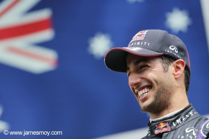 Ricciardo receberá mais em 2015