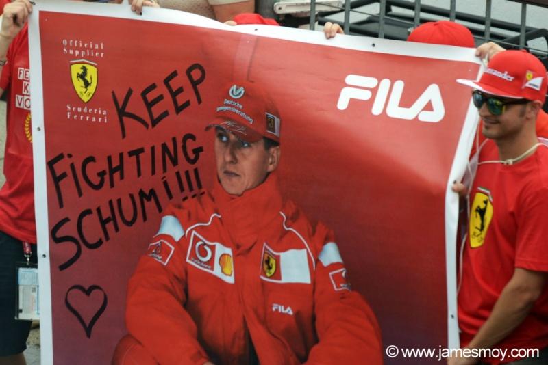 Schumacher segue o tratamento em casa,na Alemanha