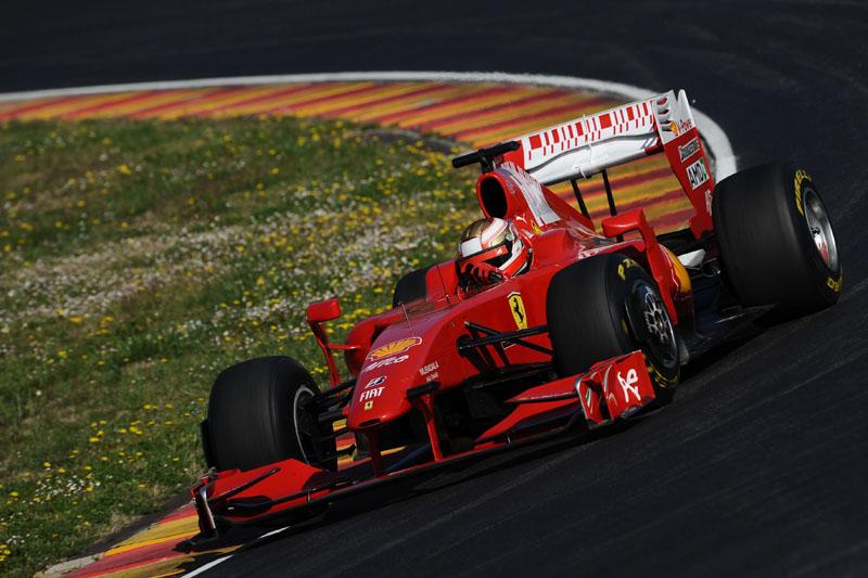 Bianchi com Ferrari de 2009