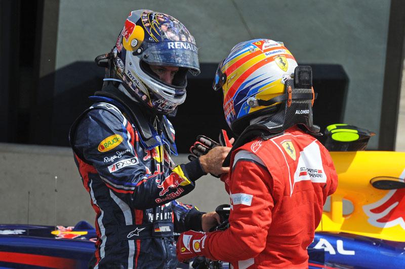 Vettel tem 92 pontos de vantagem para Alonso no campeonato