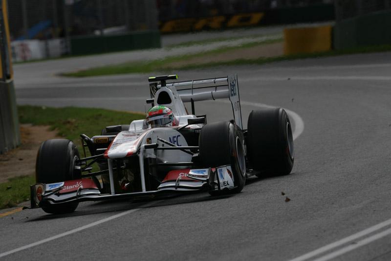 Oitavo colocado na segunda sessão, Perez foi o melhor entre os entreantes