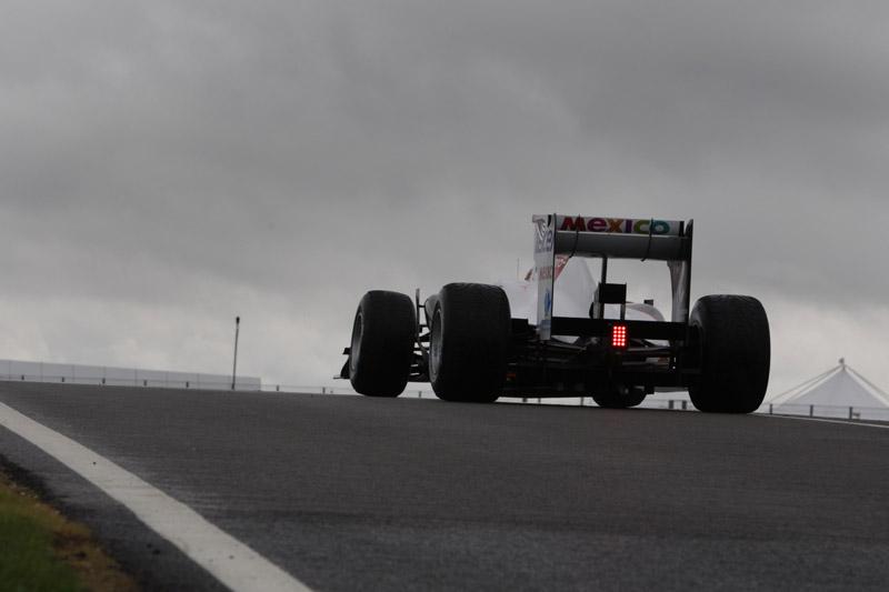 A Sauber foi bem nas curvas rápidas de Silverstone