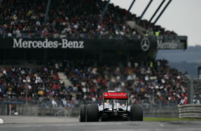 Lewis Hamilton em Nurburgring