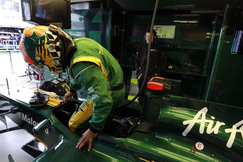 Chandhok já participou de quatro treinos livres neste ano pela Lotus