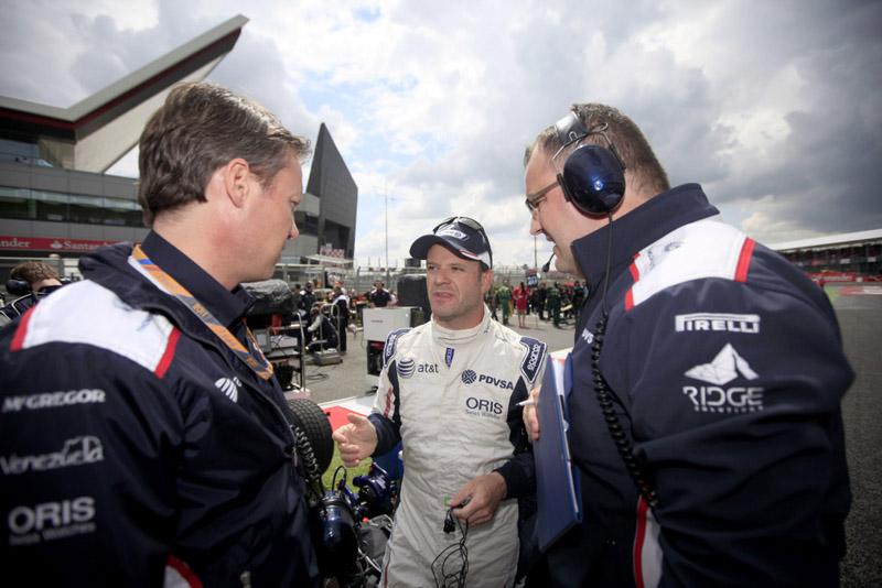 Para Barrichello, não adianta equipe