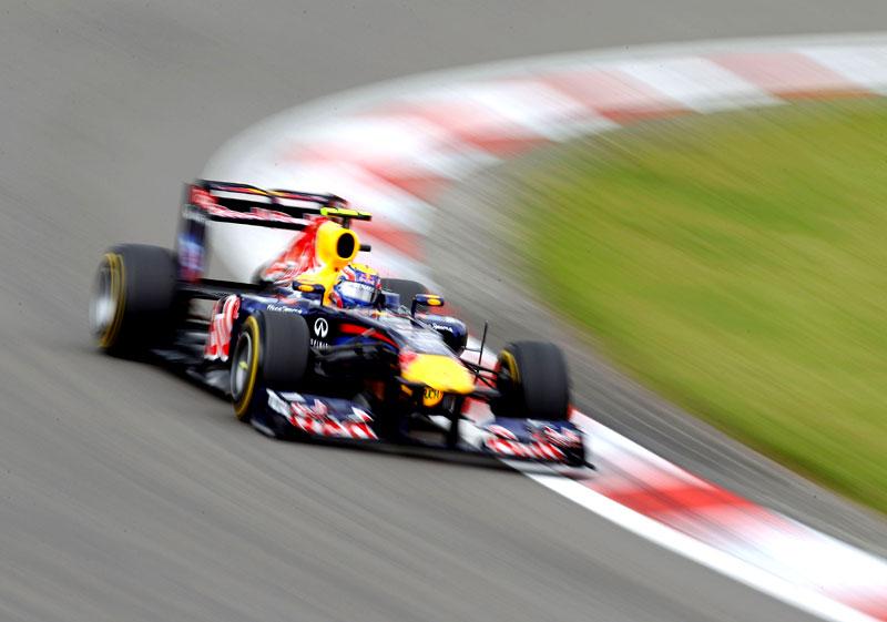 Mark Webber em Nurburgring