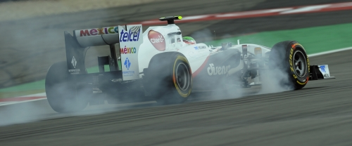 Perez ficou à frente de Kobayashi pela quinta vez no ano