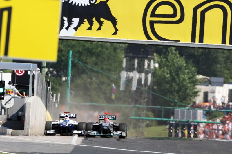 Ativação da asa traseira será na reta principal de Hungaroring
