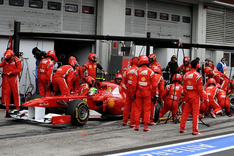 Parada final de Massa em Nurburgring