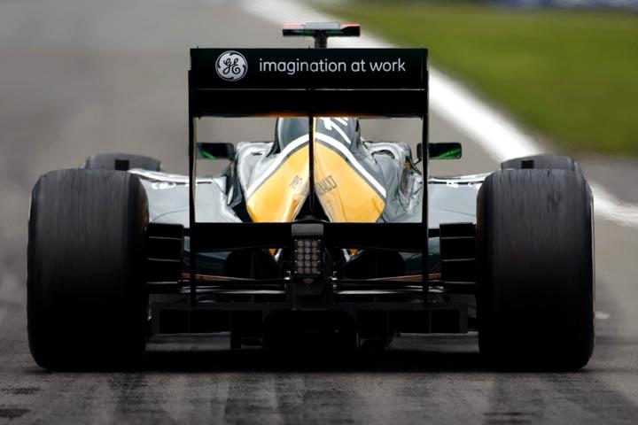 Carro de Heikki Kovalainen em Nürburgring