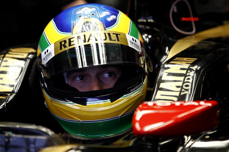 Bruno Senna: oportunidade única, por enquanto, em Hungaroring