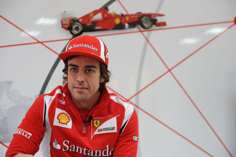 Alonso completará 30 anos amanhã