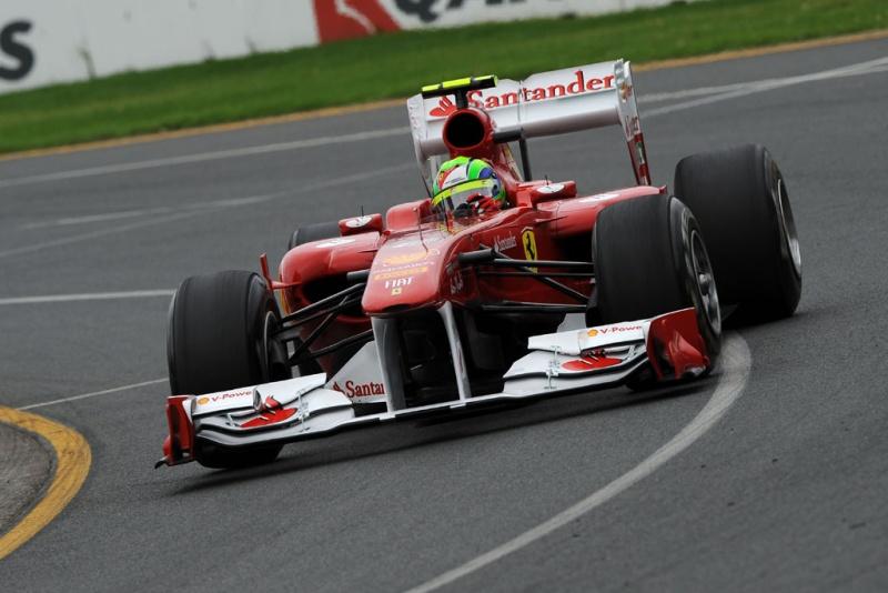 Felipe Massa: desvantagem de dois segundos para Vettel neste sábado
