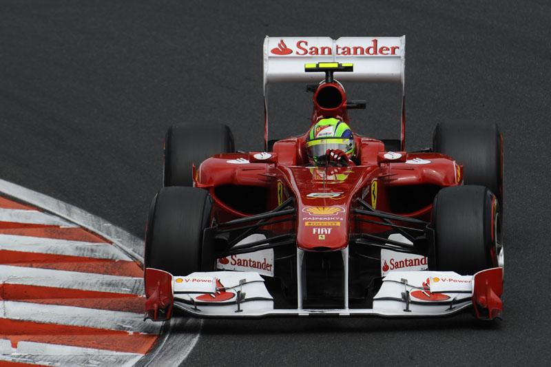 Massa foi o sexto nos treinos livres