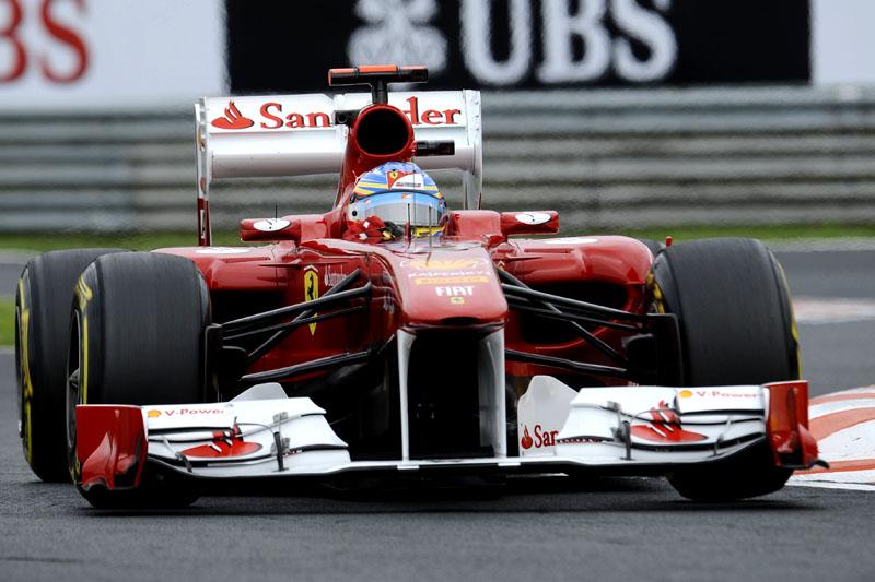 Fernando Alonso, aniversariante do dia, em Hungaroring