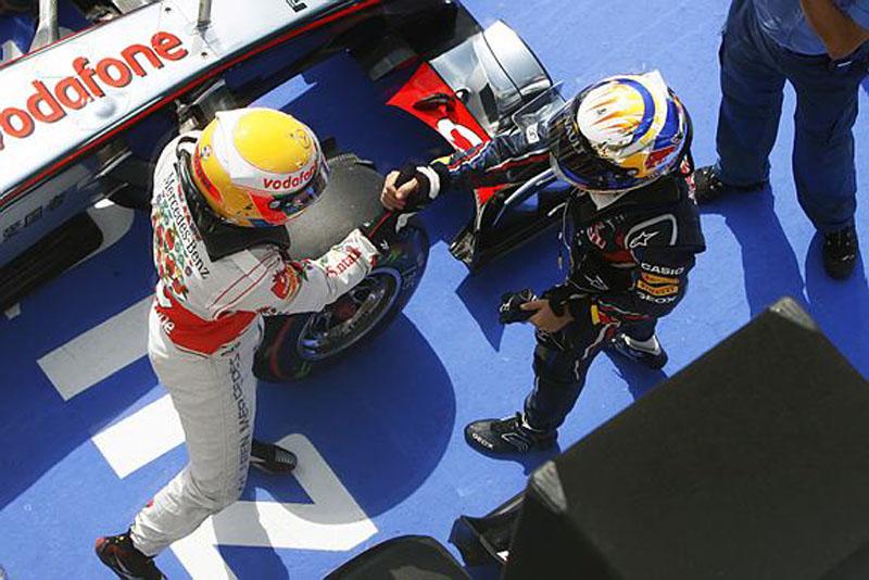 Hamilton larga na mesma posição que lhe deu a vitória na Alemanha