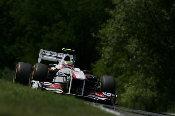 Sergio Perez, em Hungaroring