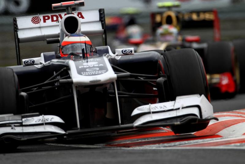 Rubens Barrichello em Hungaroring