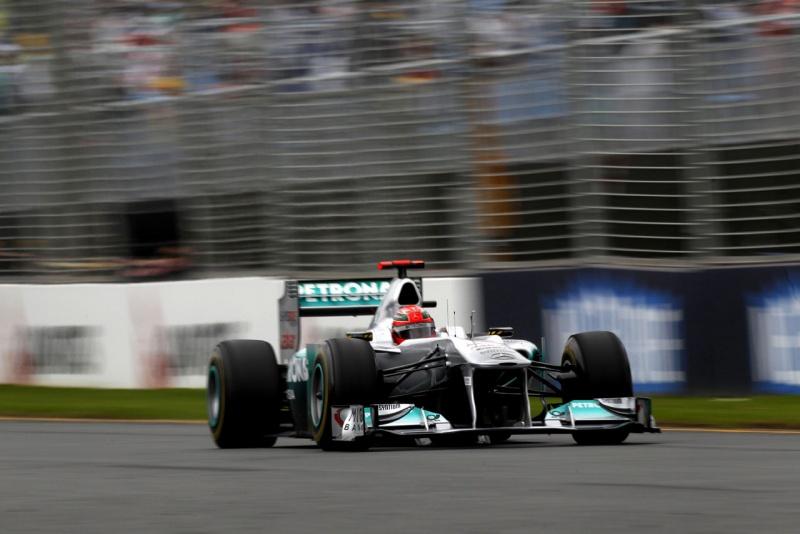 Schumacher: frustrado com rendimento do carro em Melbourne