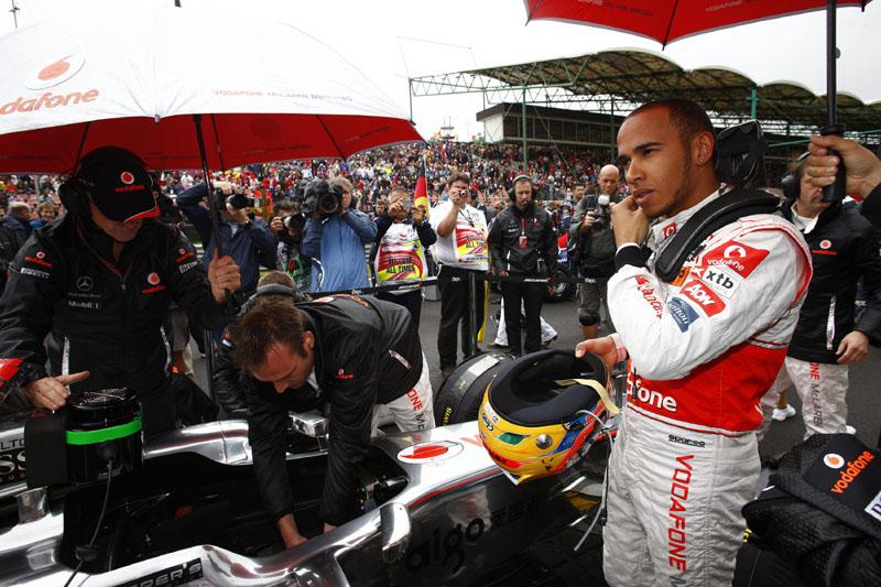 Lewis Hamilton em Hungaroring