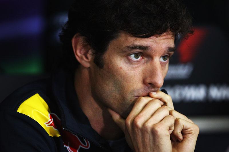 Webber é o segundo colocado no campeonato