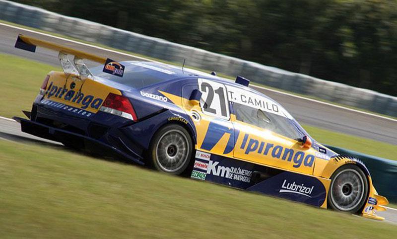 Thiago Camilo, líder da Stock Car, levou a Corrida do Milhão