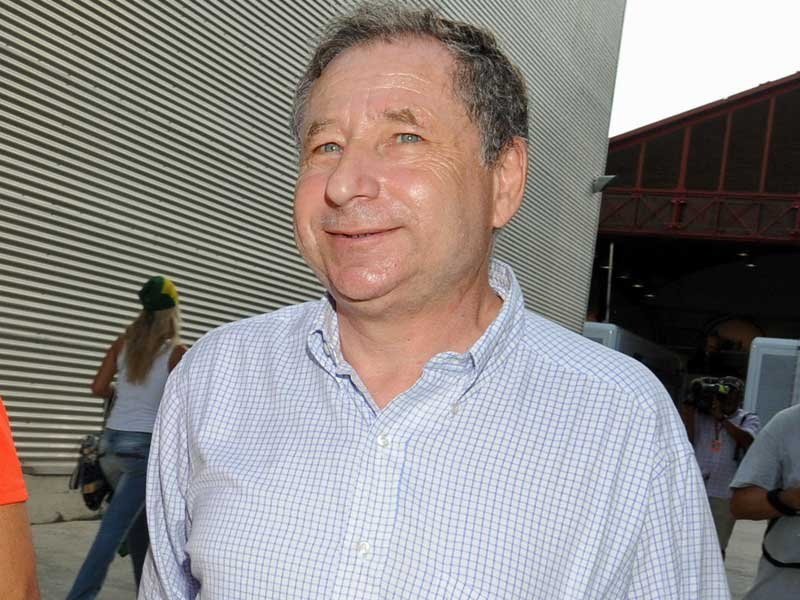 O presidente da FIA, Jean Todt