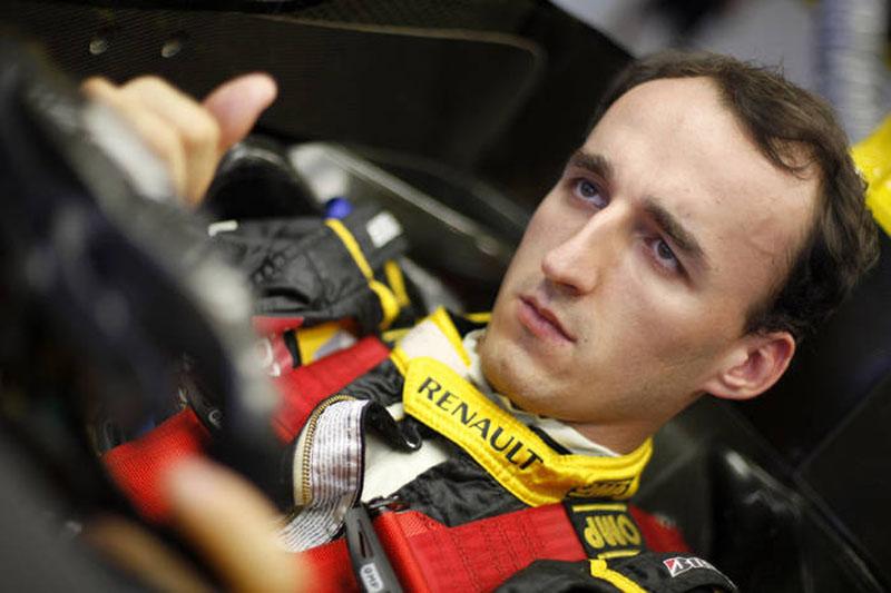 Kubica sofreu acidente em fevereiro deste ano
