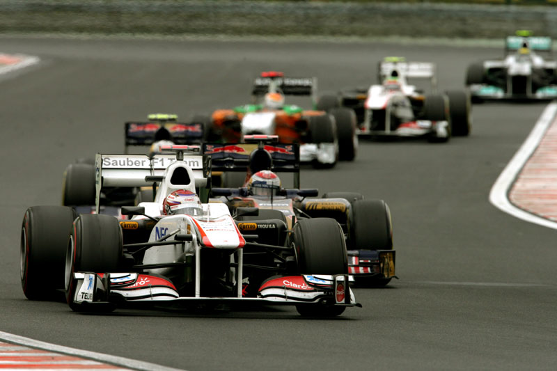 Kamui Kobayashi em Hungaroring