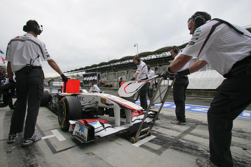 A Sauber é a sexta colocada no Mundial de Construtores