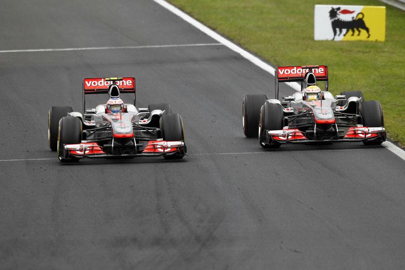 A equipe já permitiu que Button e Hamilton duelassem livremente