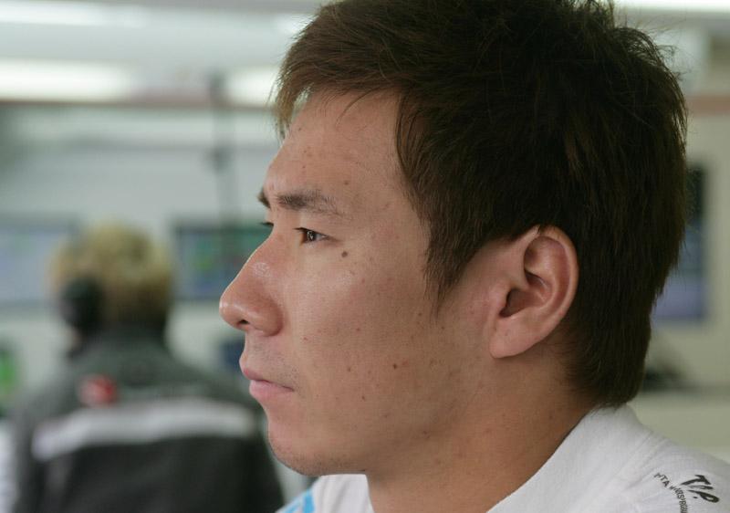 Kobayashi espera voltar aos pontos na Bélgica