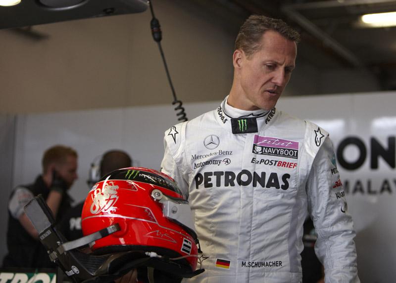 Schumacher já venceu por seis vezes em Spa
