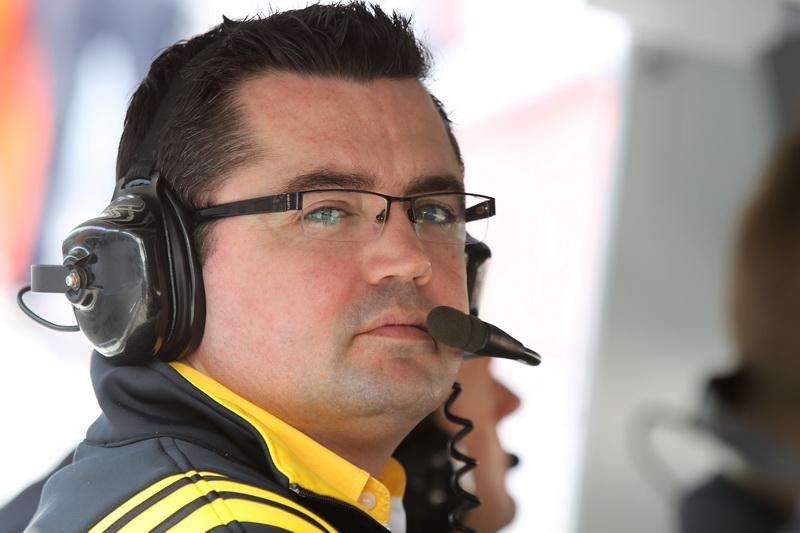 Eric Boullier, chefe da Renault