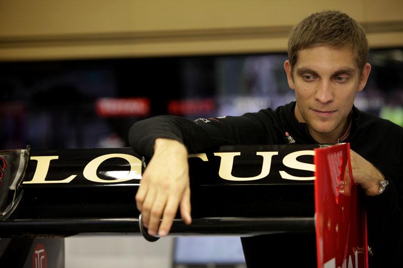 Petrov: susto em alta velocidade na Bélgica