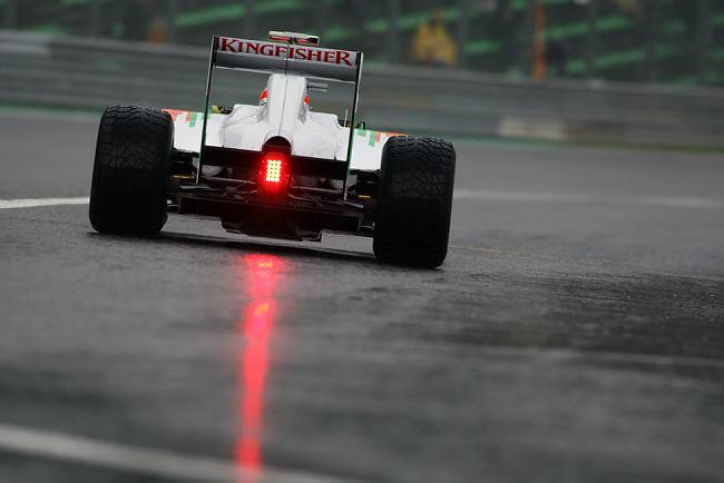 Carro da Force India vai para a pista nesta sexta em Spa