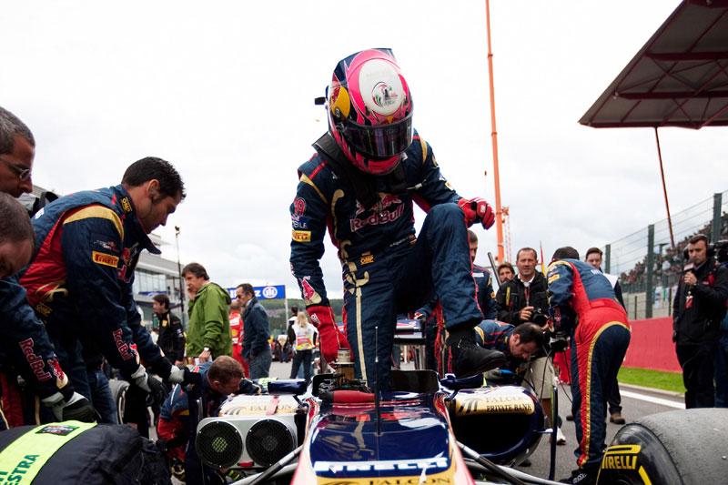 Jaime Alguersuari em Spa