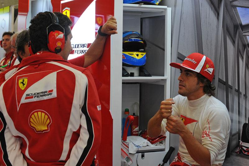 Alonso está em seu segundo ano na Ferrari