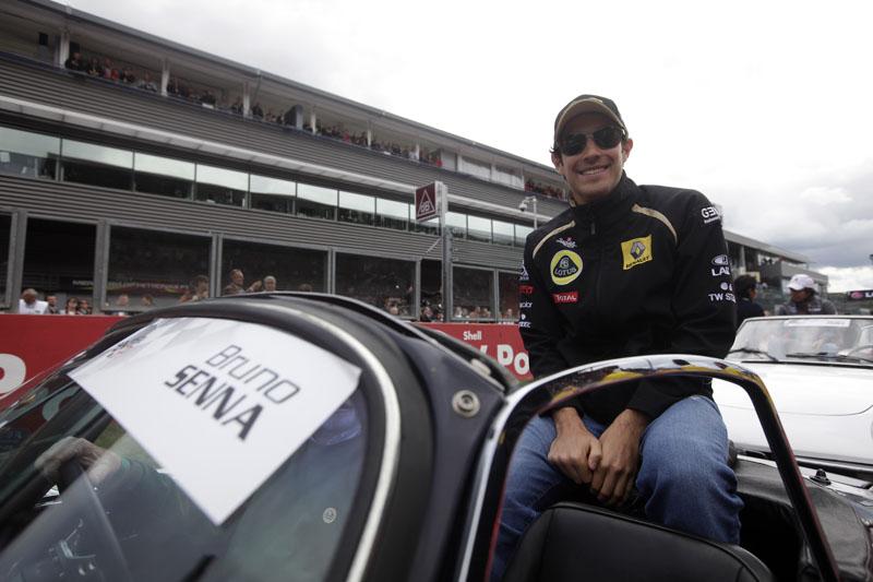 Bruno Senna chegou em 13º na Bélgica