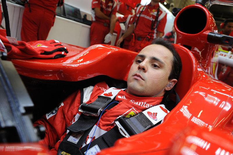 Massa está confirmado na Ferrari até o final de 2012