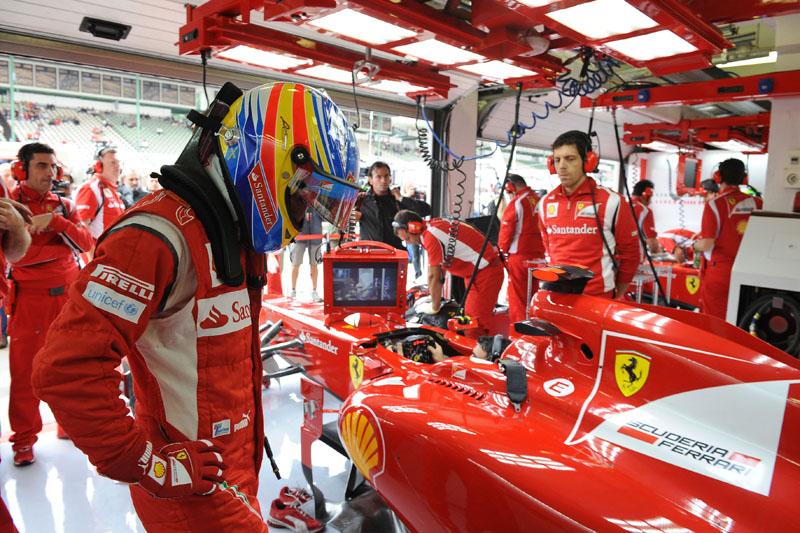 Alonso quer começar bem 2012