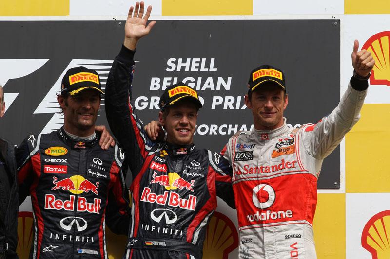 Button acredita que tem mais chance de pegar Vettel que Webber
